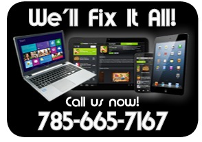 We fix it all: desktops, laptops, tablets, iPads, iPhones, Android
